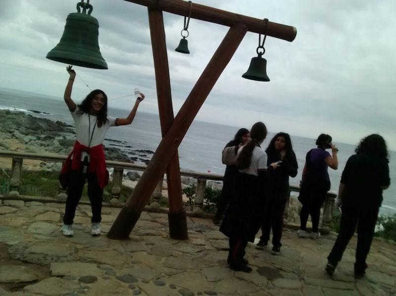 Visita pedagógica a Isla Negra