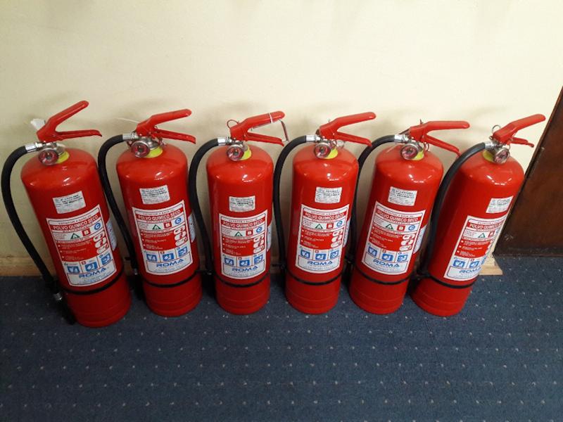 Implementación de Extintores